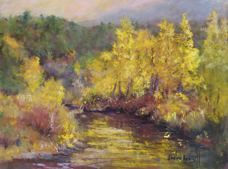 """Fall Colors"" Pastel"