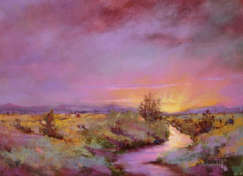 """Dawn"" pastel"