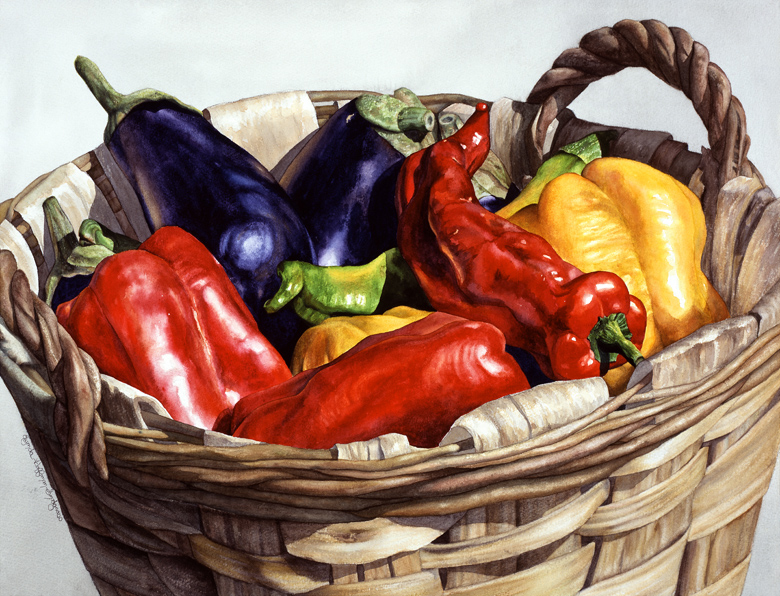 """Who Wants To Blister The Peppers?"" watercolor nfs"