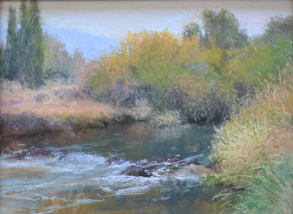 """Fall Color"" pastel by Carla Griffin"