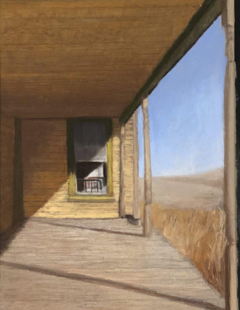 """Rusty Bed Frame"" l Judy Richardson"