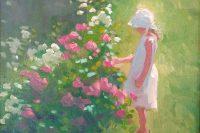 """Peri's Picture"" oil by Jenay Elder"