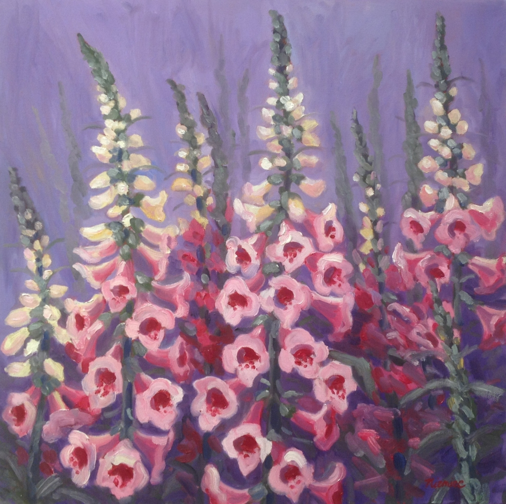 Alice Niemiec | Foxgloves